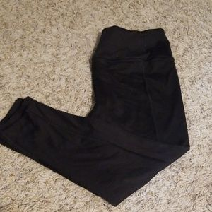 Cropped Athletic Pants